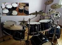 Tama Rockstar Custom Drums with Tama Pro Rack System negotiable