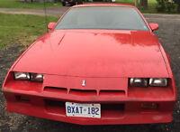 1984 Camaro $3000 or best offer