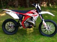 2012 Gasgas EC300r that's street plated; trade for outlander.