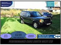 Land Rover Discovery 3 2.7 TD V6 S 5dr 7 SEATER £7,495 NEW CAMBELT/SERVICE/MOT