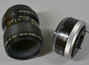 Macro lens For Sony E-mount camera with adapter manual lens