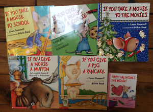 IF YOU GIVE A MOUSE A... books $3 each or all 6 for $15