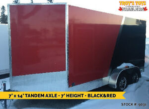 MANY CARGO TRAILERS IN STOCK • Made in Canada