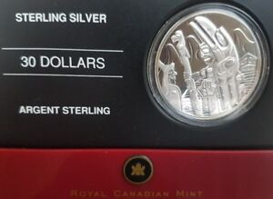 2005 $30 Silver Coin - Totem