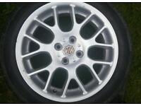 "MG 16"" Alloys with tyres"
