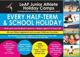 LeAF Junior Holiday Sports Camp - XMAS CAMP
