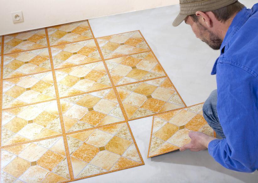 Elegant How To Install Vinyl Tile Over Vinyl Flooring