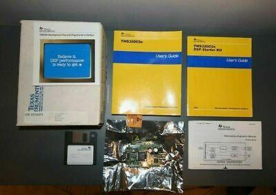 Rare Texas Instruments Ti Tms320c50 Dsp Development Board Starter Kit Tms320c5x