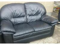 Leather 3 Piece Suite - Free!