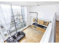 STUNNING ONE BEDROOM WAREHOUSE STYLE HAGGERSTON BROADWAY MARKET E8 WOW FACTOR LIFT