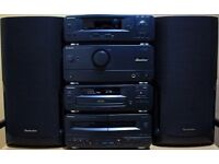 Technics CH510 seperates componet HiFi stack system with Technics speakers & remote control £130