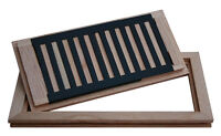 Solid hard wood vent covers,registers,grill,flush mount,wooden .