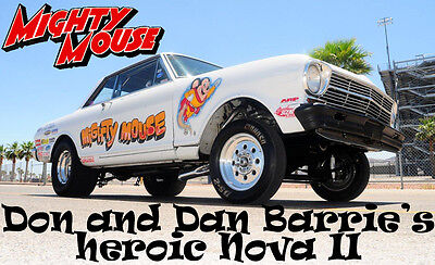 "DECALS - Dan and Don Barrie's Nova II ""Mighty Mouse"""