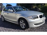 BMW 1 Series 120d SE Immaculate inside and out. Full leather interior lots of extras