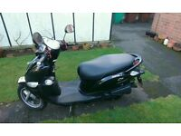 **NEED GONE** Yamaha D'elight Delight Moped Scooter 115cc 2014