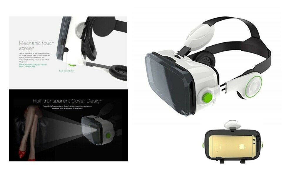 BOBOVR Xiaozhai Z4 3D Brille VR Virtual Reality Smart Headset Kopfhörer 4-6 Zoll