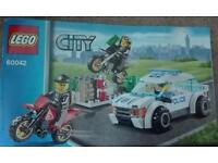 LEGO City Set 60042 - High Speed Police Chase