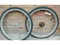x4 26 inch mountain bike wheels