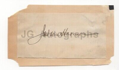 Judson Harmon - U.S. Attorney General Under Cleveland - Clipped Signature