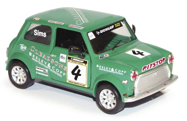 CORGI Mini Se7en Racing - Mark Sims CC82267
