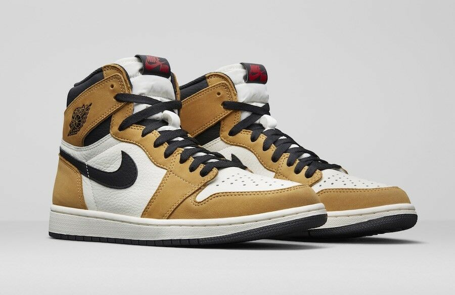 ace99cdb472 Nike Air Jordan 1 Retro High OG 'Rookie Of The Year' UK 9 9.5 10.5 11 12 44  45.5 47