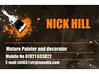 Nick hill painter and decorator