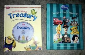 Young Kids Story Books - Disney Story Treasury and Read Along Audio Book Treasury