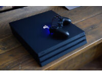 Playstation 4 Pro (PS4 Pro) 1TB + Headset + Misc