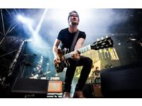 2 x stereophonics tickets live at scarborough open air theatre.purple block row B