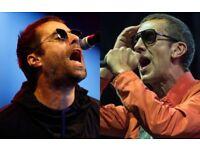 Liam Gallagher, Richard Ashcroft, Belsonic Festival...BELOW FACE VALUE !