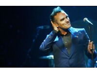 3 Morrissey tickets amazing Arena seats Row 13 Royal Albert Hall Wed 7th March