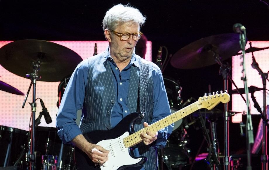 Eric Clapton Ticket For The Royal Albert Hall Wed 15th May