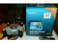 Desktop pc computer Heatsink and fan for intel i3' i5' i7 Quad-core cpu's brand new unused