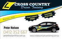 CROSS COUNTRY DRIVER TRAINING Caboolture Caboolture Area Preview