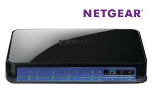 Netgear DGND3700 Wireless N MODEM Router N600 Dual Band WIFI ADSL2+ Gigabit USB