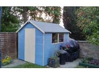 8x6 shed 12 months old dismating soon for summerhouse can deliver at cost