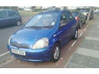 2003 Toyota Yaris 1.0 vvti colour collection 5dr
