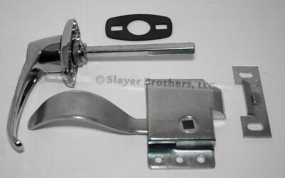 New Cab Door Repair Kit Non-locking Handle Rh Latch Gasket Striker Plate