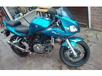 2006 Suzuki SV650s Blue, MOT, V5