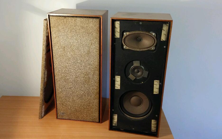 vintage 60 39 s itt schaub lorenz b 525 speakers real. Black Bedroom Furniture Sets. Home Design Ideas