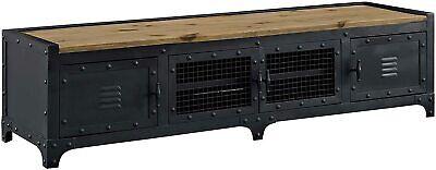dungeon industrial pine wood steel