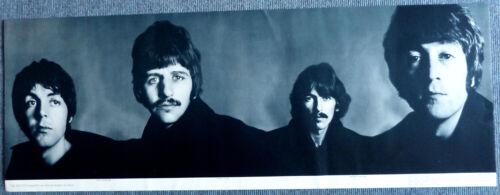BEATLES Richard Avedon Banner Poster - Germany 1967, rare ORIGINAL - Excellent