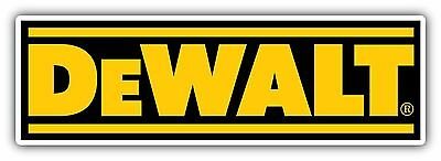 DeWalt Tools Tool Vinyl Sticker Diecut 2 Stickers