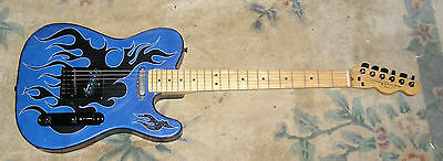 Telecaster 1994 Made In USA Montana&Murga Boot Stiched Leather RARE CUSTOM MADE