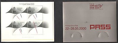 2000 Gran Bretagna Great Britain The Stamp Show 2000 BF 8A