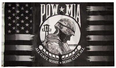 5 Branches Military Wholesale Lot 3x5 USA South Dakota Flag Set Pow Mia
