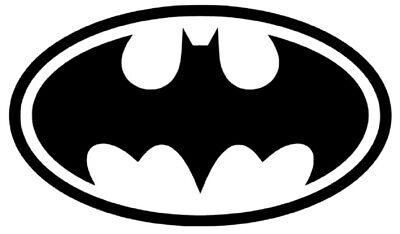 Batman Laptop - Diecut Vinyl BATMAN LOGO Car Truck Decal Sticker Gift Laptop Comic Dark Knight