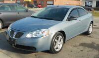 2008 Pontiac G6 SE Sedan FALL WARRANTY SPECIAL