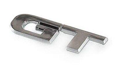 GT Logo Chrome Emblem Badge Car Exterior Accessories