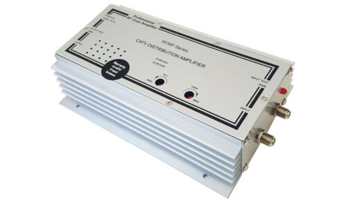 Commercial-Grade RF Cable TV Signal Amplifier with High 50dB Gain